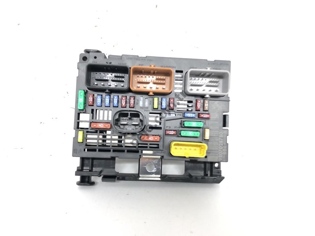 Citroen C4 Sigorta Tablası