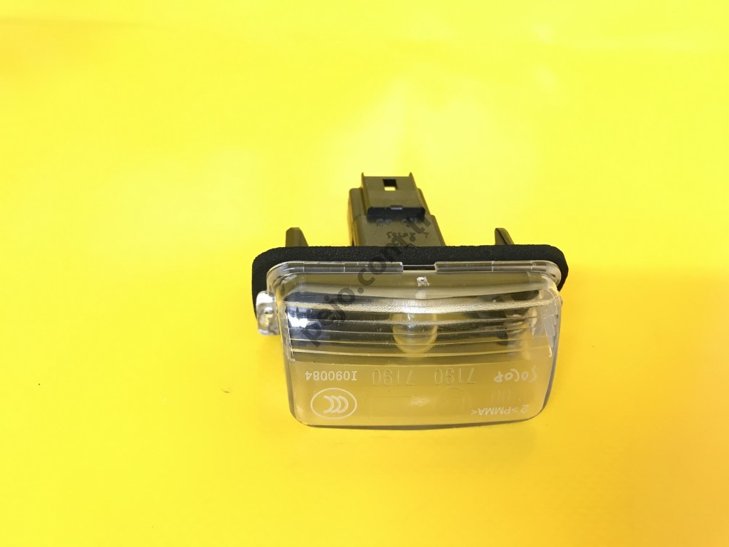 Citroen Ds4 Plaka Lambası