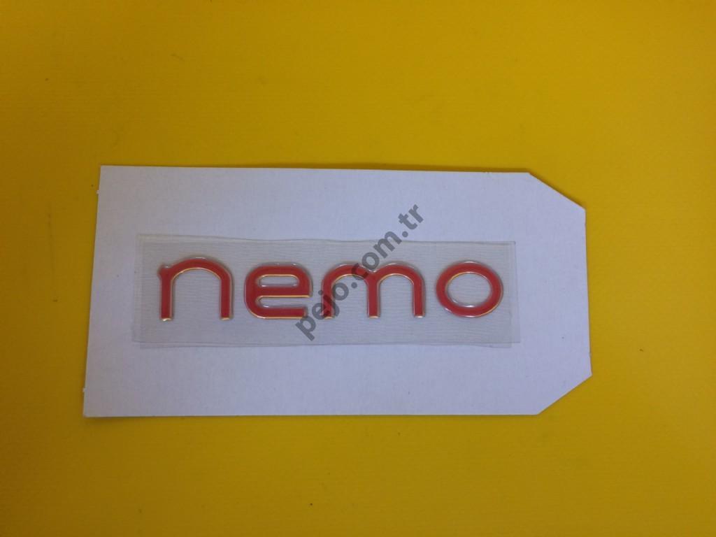 Citroen Nemo Çamurluk Yazısı