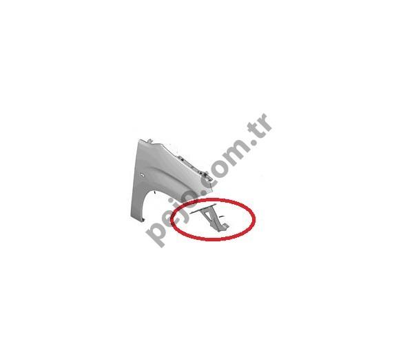 Peugeot Rifter Ön Çamurluk Bağlantı Braketi Sağ
