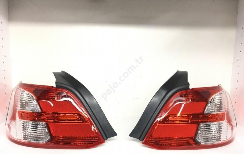 Peugeot 301 Sağ Sol Stop Lambası Takımı
