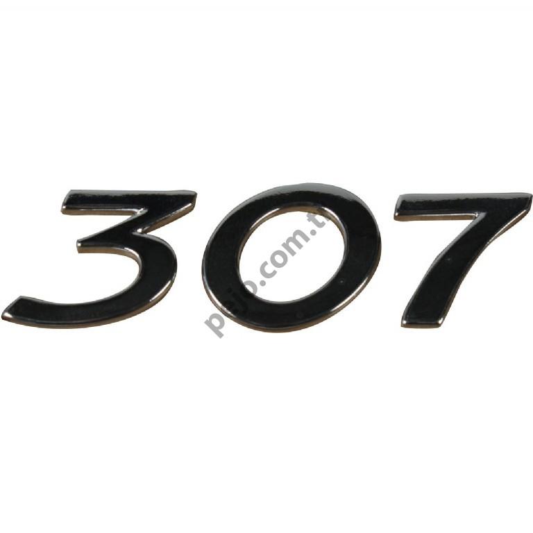 Peugeot 307 Bagaj Yazısı 307 Yazı