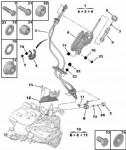 Peugeot Boxer Vites Kolu Ayağı